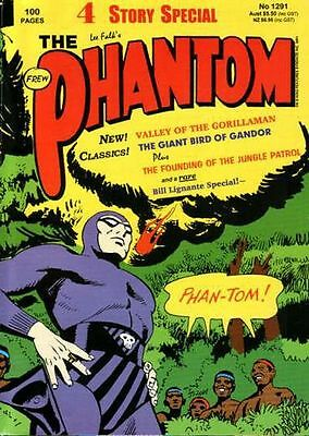 THE PHANTOM Frew Comic #1291  EXCELLENT 100 pages 4 Story Special