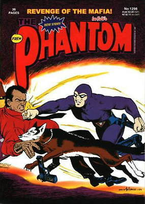THE PHANTOM Frew Comic #1298  EXCELLENT  Revenge of the Mafia