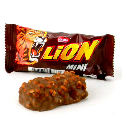 (11,23€/1kg) Nestle Mini-Mix KitKat & Lion, 70 Riegel im Eimer