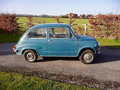 1967 Fiat 600D Fanalone. For restoration /recommissioning
