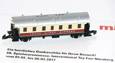 Märklin Z SOMO Exhibition Model Toy Fair nϋrnberg 2017 - Neu + OVP