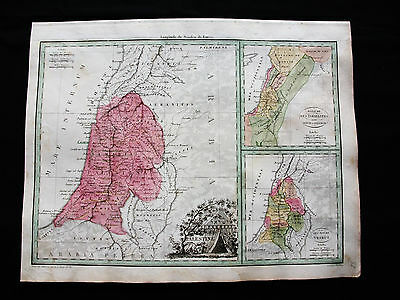 1810/12 M.BRUN & LAPIE - Orig map: ASIA MINOR MIDDLE EAST ISRAEL PALESTINE SYRIA