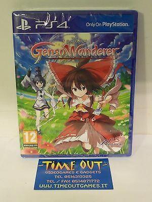 Touhou Genso Wanderer + Double Focus Sony Ps4 Nuovo Sigillato