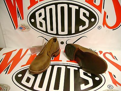 White's Boots Oxford Distressed size 10.5 D
