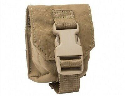 NEW T3 Gear Single Frag Grenade Pouch MOLLE - Coyote Brown