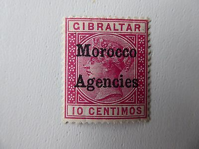 Morocco Agencies QV 10c m/mint