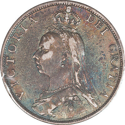 1888 Great Britain Florin (2 Shillings) Km #762 Vf, Pleasing Circulated Example!