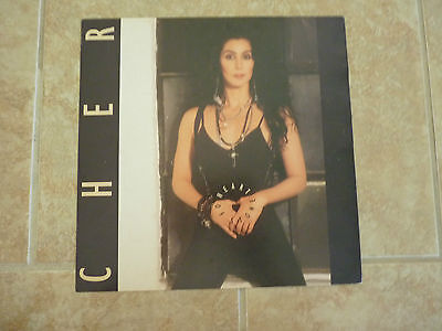 Cher Heart of Stone Promo Lp Poster Photo Flat 12x12