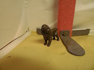 Little Bronze Springer Spaniel - Solid Either Bronze Or Pot Metal Dog!