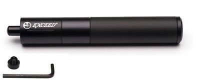 New Mezz Telescopic Exceed Cue Extension set - Black - Extends 7 to 10 inches!