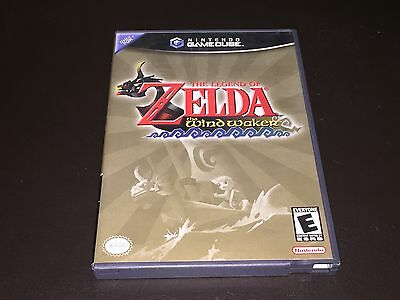 The Legend of Zelda: The Wind Waker Nintendo GameCube Wii Complete CIB