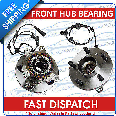 1x Front Axle Wheel Hub Bearing Kit Land Rover Discovery MKII MK2