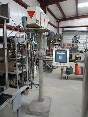 All-Fill Auger All Fill Filler Powder Mdl B 300 Cerebus II Touch Pad Factory CU