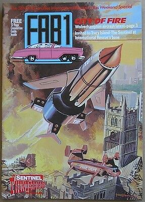 Thunderbirds FAB1 Sentinel Thunderbirds Convention Special 1992 Magazine