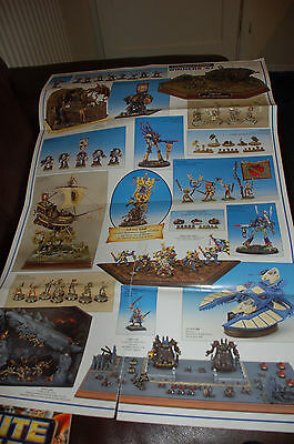 Warhammer White Dwarf large poster - GOLDEN DEMON WINNERS 1997