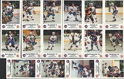 CANADA, The 1988/89 Season-Cards Complete Set, WINNIPEG JETS