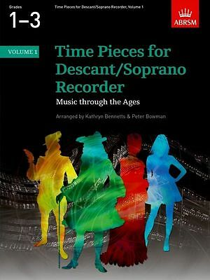 Time Pieces for Descant Recorder Volume 1 ABRSM - Same Day P+P