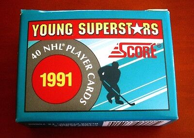 1991 Score NHL Young Superstars Set of (40) Hockey Cards