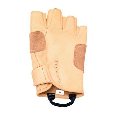 Singing Rock Grippy 3/4 Leather Belay Gloves Large