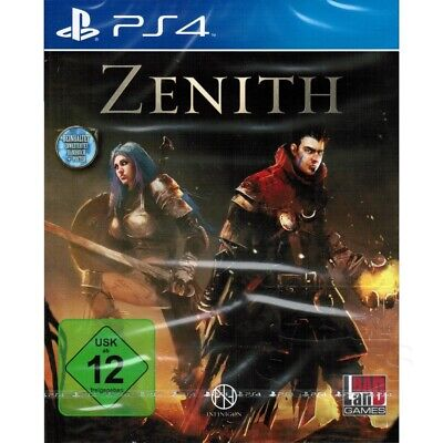 ZENITH Sony Playstation 4 Spiel + Poster PS4, NEU&OVP