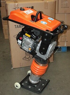 196cc Gas Power Rammer Tamper Jumping Jack Plate Compactor  Dirt