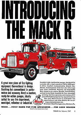 GILFORD CT HAS A Mack Fire Engine 1958 Ad 6885 - $9 50 | PicClick