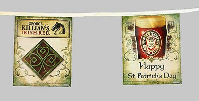St. Patricks Day KILLIAN'S IRISH RED Flag Banner - NEW!