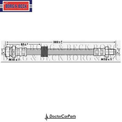 Brake Hose Front for FORD CONNECT 1.8 02-13 CHOICE3//3 w// ABS TRANSIT DI TDCi BB