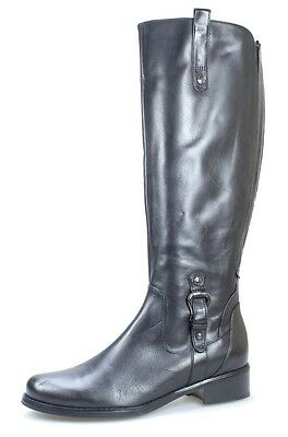 Blondo NEW Black Shoes Size 7M Side Zip Knee-High Leather Boots $264- #443 DEAL