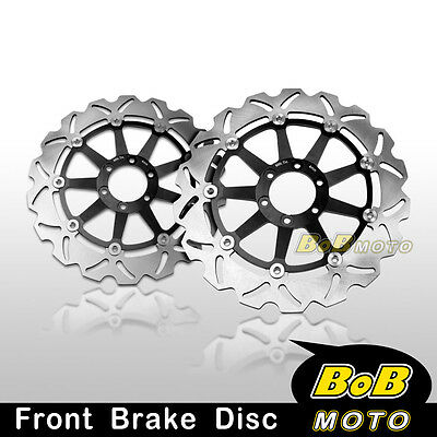 Ducati Monster S2R 1000 2006 2007 Front Stainless Steel Brake Disc Rotor Pair