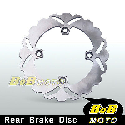 1x Solid Rear Brake Disc Rotor For Honda VTR 250 98 99 00 01 02 03 04 05 06 07