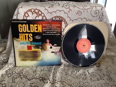 Patti Page Golden Hits LP 33 RPM, MERCURY SR 60495