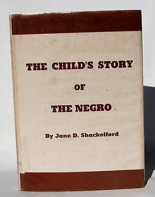 Book The Child's Story Of The Negro By June Shackelford Fourth Printing 1968