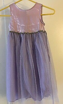 Perfectly Dressed  Girls Size 5 Party Wedding Fancy Boutique Dress purple