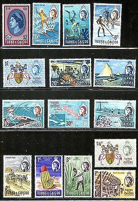 Lot 59226 Mint H   217 - 230  Turks And Caicos Islands