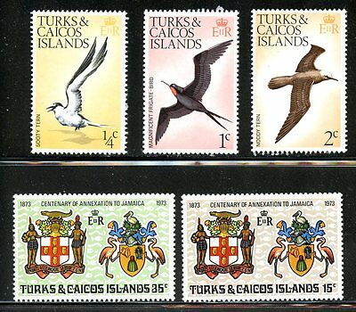 Lot 59232 Mint Nh   263  - 267   Turks And Caicos Islands