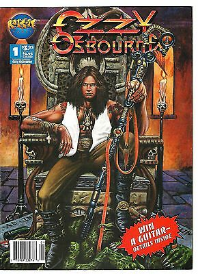 Ozzy Osbourne #1 (1993) FN  Rock-it Comix Magazine  Carey - Kyffin