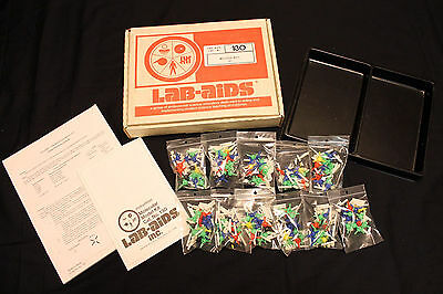 Lab-Aids #130 Molecular Model Kit 494pc Set with Instructions/Worksheets