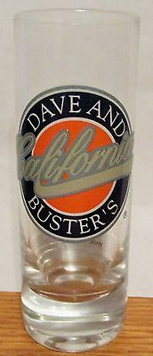 D & B   (Dave & Busters)    California Green Letters    4 Inch Tall Shot Glasses