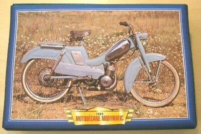 Motobecane Mobymatic Classic Moped Motorcycle Bike 1960's Picture Print 1964