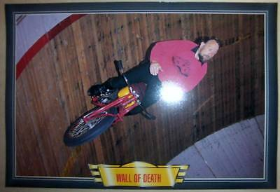 Wall Of Death The Motordrome Classic Motorcycle Bike Action Picture