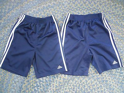 Boy's Girl's Adidas Athletic Soccer Shorts Lot (2) 7