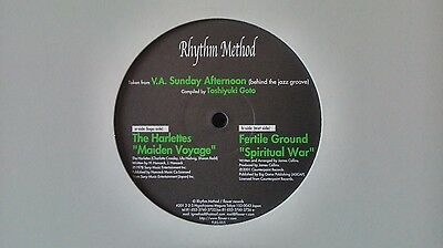 "VARIOUS - Sunday Afternoon (Behind The Jazz Groove) 12"" (FLOWER FLRS-005) JAPAN"