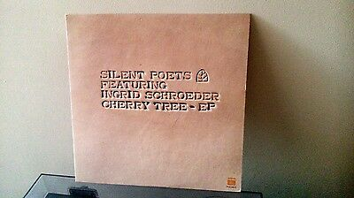 """SILENT POETS - Cherry Tree EP 12"""" (TOY'S FACTORY TFJC-38215) JAPAN 1997"""