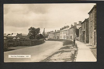 Wolsingham - West End - real photographic postcard in 'Monarch' series