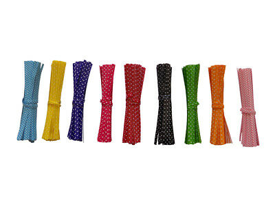 POLKA DOT Twist Ties -  10cm For  Cone cello sweet bags party gift uk seller