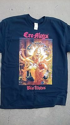 Cro-mags best wishes T-shirt Tee shirt new size adult L
