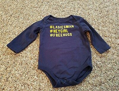 Boys 1 Pc.    .  Size 6 mos.  Jumping Beans