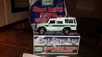2004 Hess Sport Utility Vehicle and Motorcycles In Box
