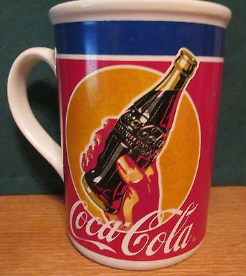 "Coca Cola  Vintage Emblem  By Gibson   4 1/2"" Tall,  12 Oz"